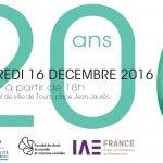 20 ans de l'IAE de Tours !