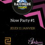 NOW PARTY #1 édition 2017-2018 – Jeudi 8 janvier 2018