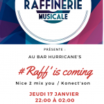 Raff' is coming