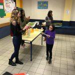 Intervention du 28 Février à l'école de Clocheville